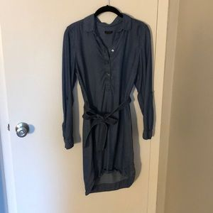 Chambray Dress from Ann Taylor